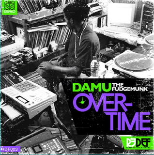 damu overtime - alternate cover