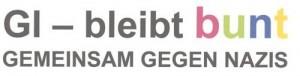 """Logo des Bündnis """"Gießen bleibt bunt - Gemeinsam gegen Nazis"""""""