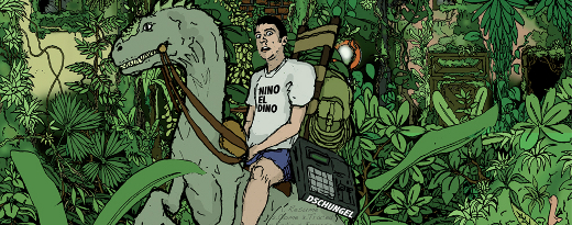 NINO EL DINO - DSCHUNGEL Cover