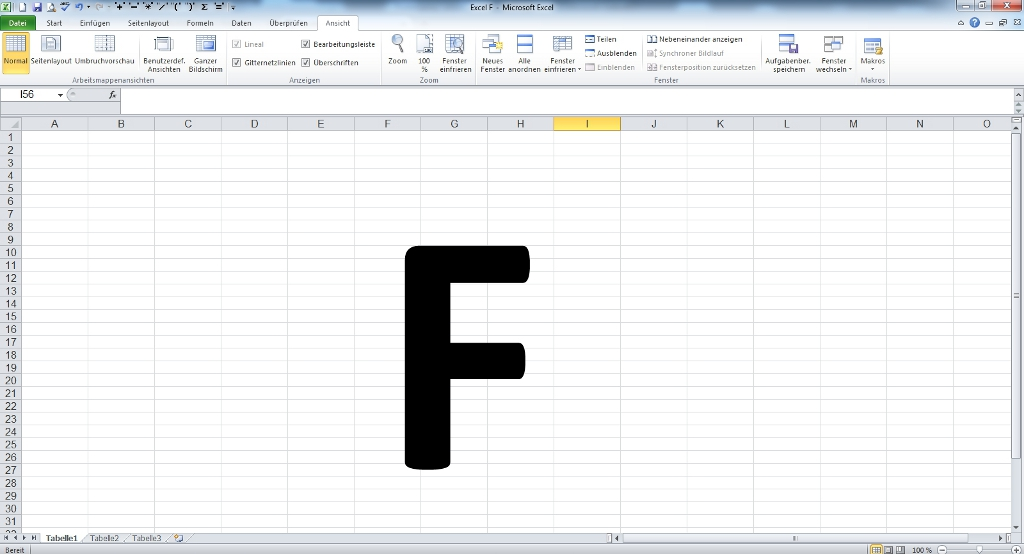 Excel F