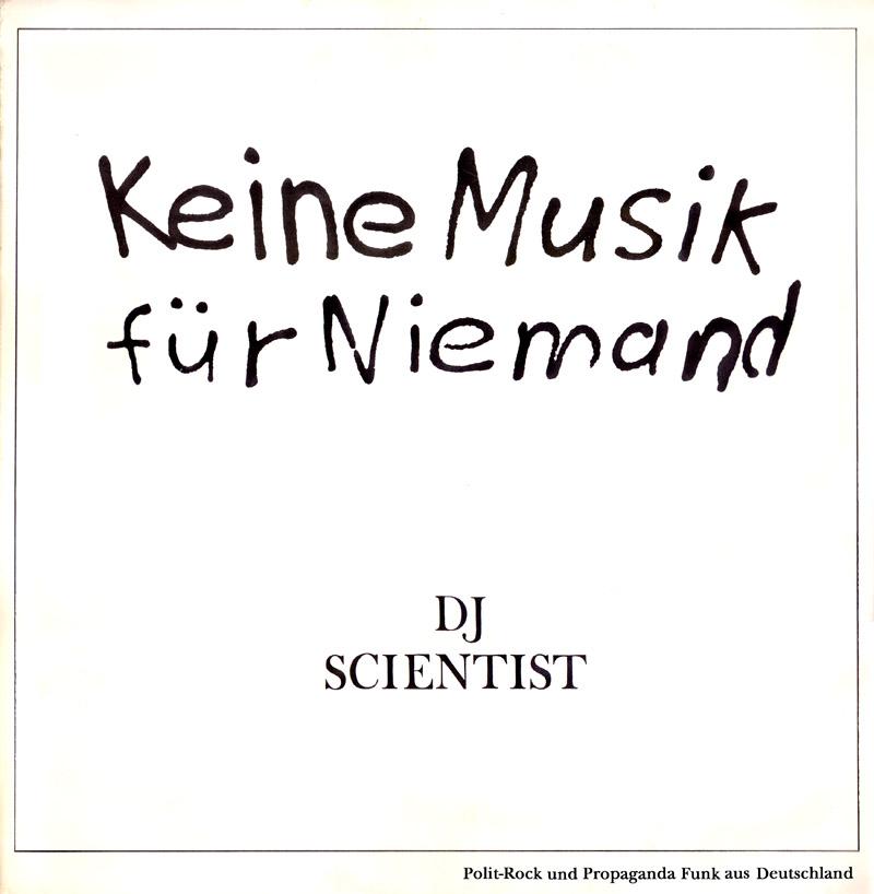 KeineMusikFürNiemand_DJScientist_Cover